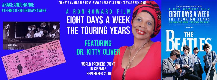 Kitty Oliver The Beatles 8 Days a week Movie Ron Howard Film